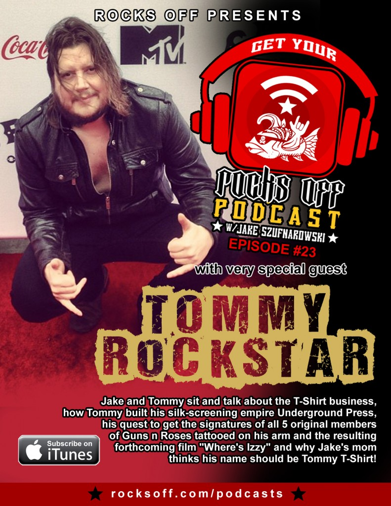 Tune in to hear the legend of Tommy T-Shirt!